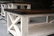 Wooden furniture / Rustic wood furniture