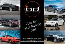 Photo Contest - Vote for Your Favorite Car! / Go to http://woobox.com/7v2kie to vote