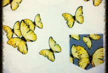 Sweatshirts / Tshirts / Unisex sweatshirts and Tshirts designed and appliqued by James Steward Couture. Made to order.