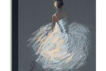 Canvas - ballet, ballerina