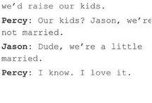 Jercy  / Jason and Percy