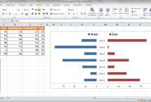 0356 - Microsoft Excel - Butterfly Chart