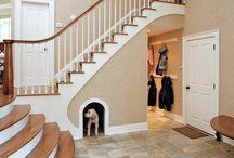 Under-the-stairs Storage