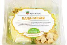 Kasvishovin lounassalaatit / Monipuolinen valikoima take away salaatteja. Tuotteemme on käsin koottuja ja Limingantullissa valmistettuja.