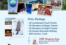 Pigeon Forge Pin it to Win It! / Yep, I want to win the prize package and go back to Pigeon Forge.