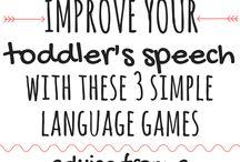Toddler Speech Activities