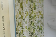 Shower curtains for Phyllis / Shower curtains for my mother's new apartmetn