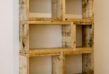 Mobiliario con reciclado