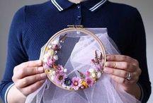 floweral wreath weaving