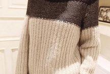 Свитера-пуловеры / Вязание