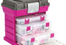 Craft On-The-Go / Take your crafting supplies on-the-go with our organizers available at Walmart!