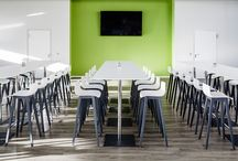 Cafeteria / Appetizing looks, every day: in restaurants of all kinds, the eye wants to be part of the dining experience. Here, choosing the right furniture is not only a question of style, but also a kind of service. For more coziness, more enjoyment – and maybe even more creative liberty.