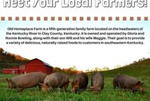Friday Farmer Feature / Highlighting Appalachian farmers every Friday! Check back each week for updates