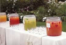 Spring & Summer Drinks / Cocktails and refreshing non-alcoholic recipes we found and love. We can help craft these for you, or help you create a signature cocktail for your event.