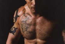 Dangerous and Lethally Hot / Pictures of guys that embody the dangerous and hot hero vibe.