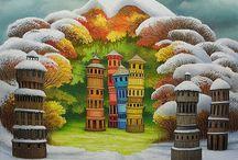 Art(Jacek Yerka)