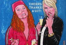 absolutely fabulous / Patsy en Eddie