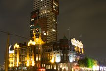 Night Photography / Rotterdam, Hotel New York by night