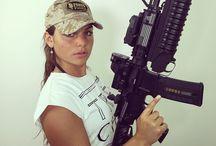 Ladies with a gun