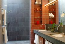 Master Bath Ideas / by KRW Knitwear Studio