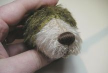Teddy bear nose
