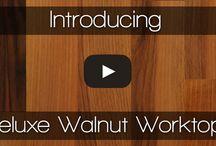 Walnut Worktops / Welcome to the wonderful world of walnut.