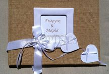 Wish-Books by Happiness / Handmade and custom-made books for wedding and baptism (christening) guests to sign and write their wishes for the special occasion!