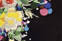 haft wstążeczkowy / haftowane inspiracje