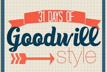 31 Days of Goodwill Style