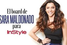 El board de Sara Maldonado para InStyle sobre ANIMALES / Los animales favoritos de la actriz SARA MALDONADO