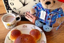 Paddington Bear / Cocoa, buns, marmalade sandwiches, and the occasional hard stare.