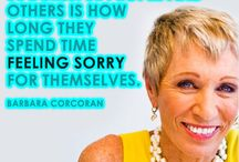 Brand Inspiration / Inspiring and motivational words and images from high power business women