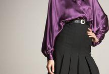 Purple Bow Blouse 1