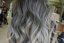 Серебристые волосы