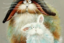 Bunny Art, Cartoons and Funny Things