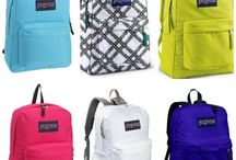 Backpacks / by Heidi Brunner-Bindi