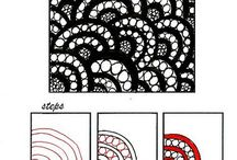 Zentangles / Lotsa tangles