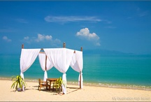 Koh Samui Beaches / In this album we will show you some photos of Samui beaches we take everyday. We will be happy if you like it.  Join us on Facebook - http://www.facebook.com/MyDestinationKohSamui / by My Destination Koh Samui