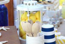 Fiesta Marinera / Ideas y productos para decorar una fiesta marinera