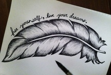 dream tattoos / by Brianna Russell