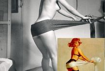 Making of with by Gil Elvgren
