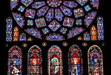 obsessed with stained glass.