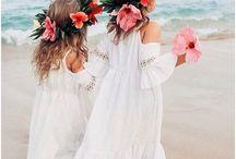 Beautiful bridesmaids, Flower girls & pageboys