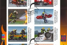 Firefighters / Stamps celebrating our Firefighters
