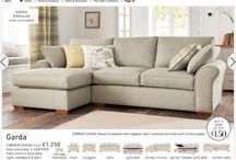 What's my sofa / This board captures all the ideas of what I would like to pull together in my new house next year.  I love comfort and cosiness with fabulous lighting and statement fabrics.