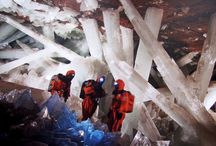 Amazing Crystal Caves! / From Mexico to Bermuda, the world has some astoundingly beautiful crystal caves! Come explore with us and see that there truly is magic in the Earth.  #crystals #crystalcave   www.crystalage.com
