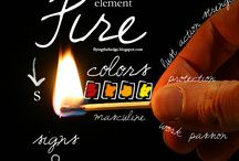Elements / Correspondences, spells, and information regarding the four elements: Earth, Fire, Water, and Air.