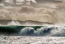 Temporales / Impresionantes imágenes que dejan los temporales en Costa da Morte