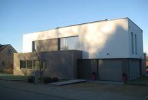 projects / réalisations du bureau d'architecture Hervé Vanden Haute