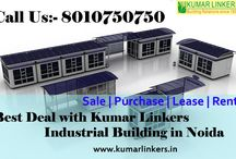 Industrial Building in Noida / Kumar Linkers giving a good option for their clients to invest in Industries at Noida. At Kumar Linkers we full filling the demand of Industrial property according to the Phase (1, 2, and 3) and Its Sectors (1 to 140A). We have lots of Industrial Plots, Building for Sale and Industrial Building for Leasing in Phase 1, 2, 3.